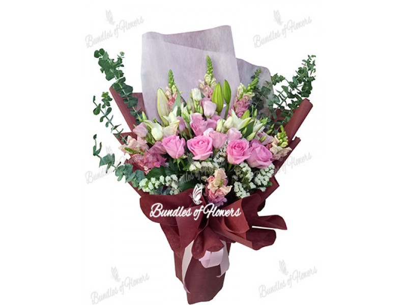 Elegant Pink Bouquet