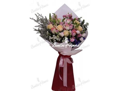 Mixed Flowers Bouquet 07