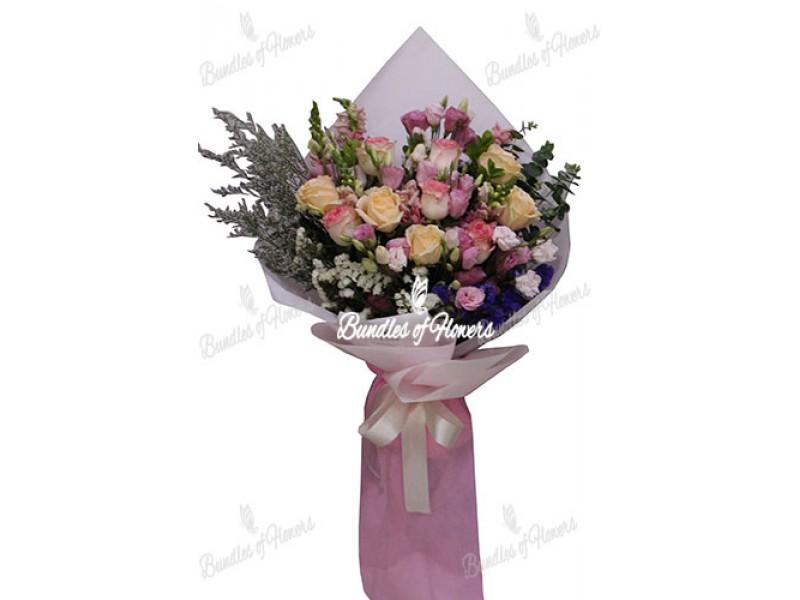 Mixed Flowers Bouquet 12