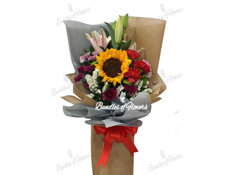 Mixed Flowers Bouquet 05