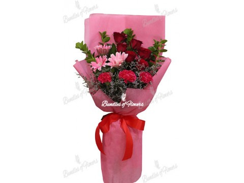 Mixed Flowers Bouquet 17
