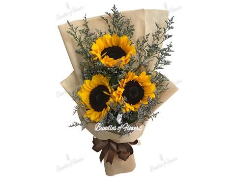 Sunflower Bouquet 06