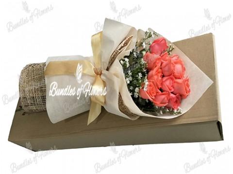 12 Pomelo Roses in a Box