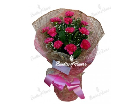 Carnations Bouquet 03