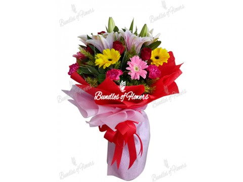 Flower Bouquet 01