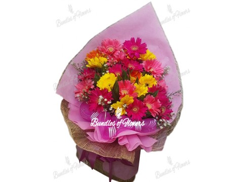 Gerberas Bouquet 07