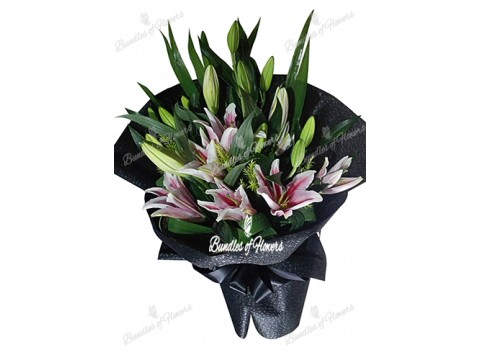 Lilies in Black