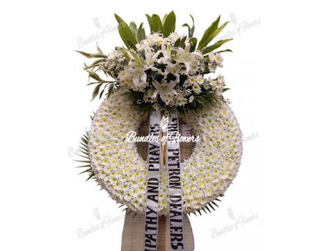 Funeral Wreath 21