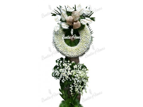 Funeral Wreath 22