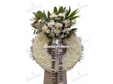 Funeral Wreath 23