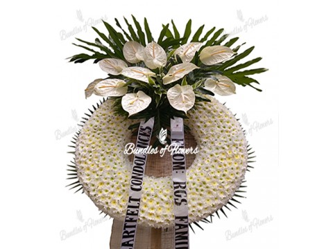 Funeral Wreath 24