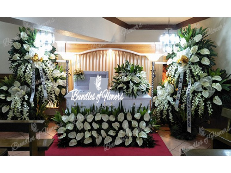 Sympathy Package Casket Decor 01