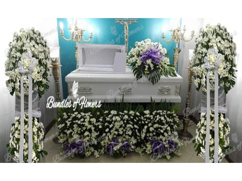 Sympathy Package Casket Decor 02