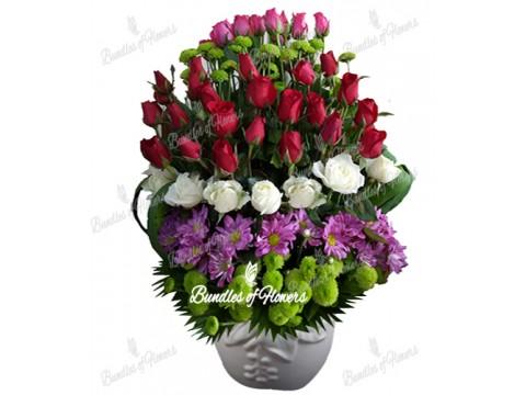 Vase Arrangement 03