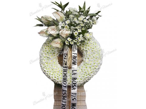 Funeral Wreath 01