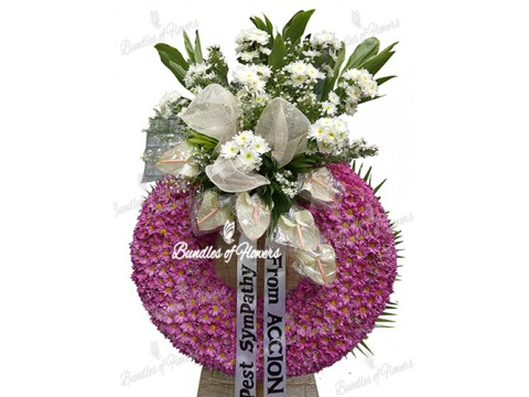 Funeral Wreath 13