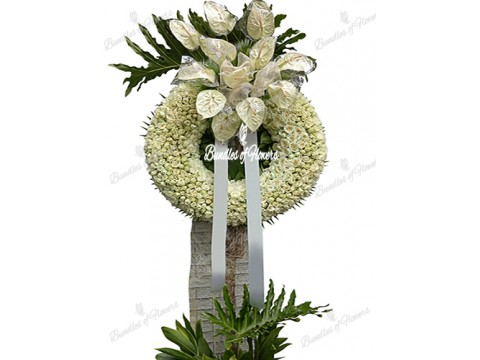 Funeral Wreath 14