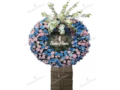 Funeral Wreath 17