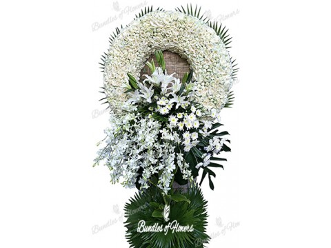 Funeral Wreath 18