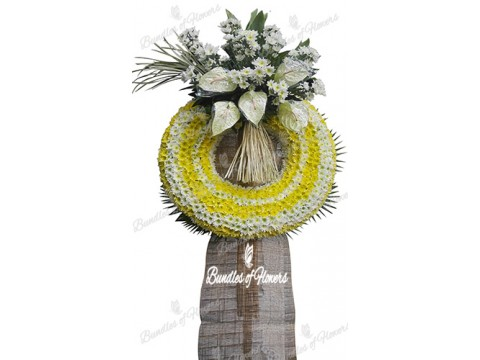 Funeral Wreath 19