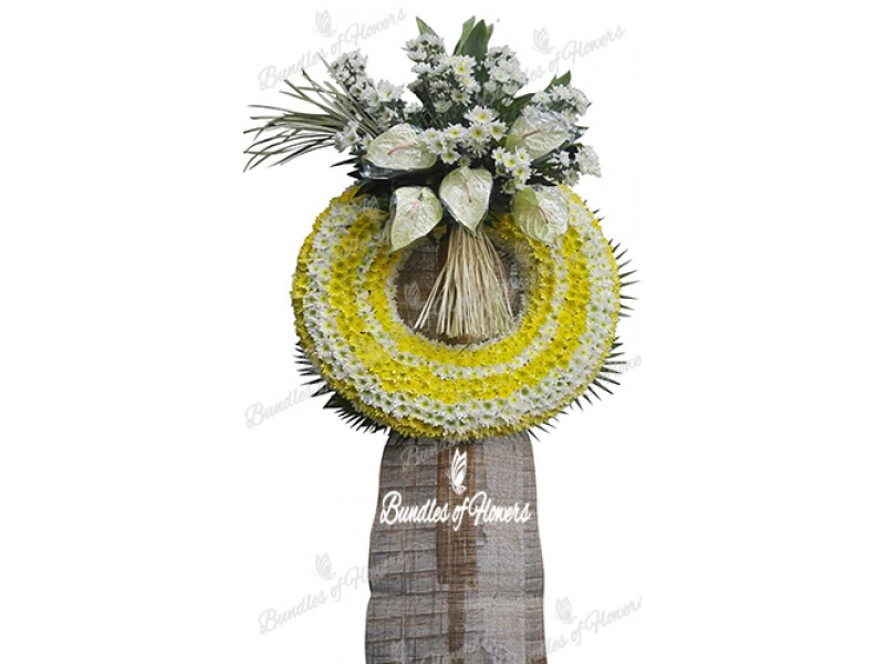 Funeral Wreath 19
