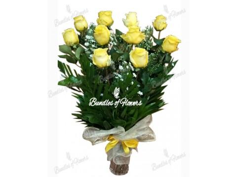 Ecuadorian Yellow in a Vase