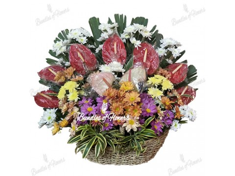 Flower Basket 05