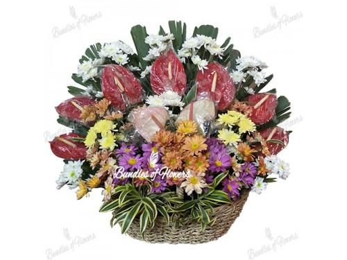 Flower Basket 05