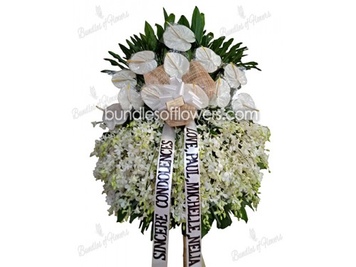 Funeral Flower Stand 01