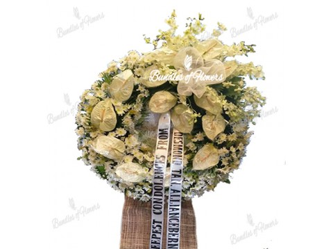 Funeral Wreath 27