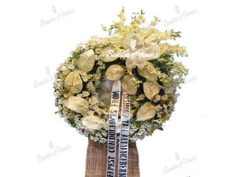 Funeral Wreath 27