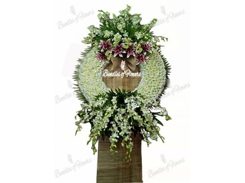 Funeral Wreath 28
