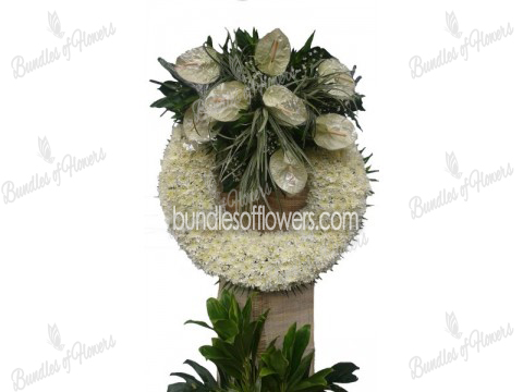 Funeral Wreath 05