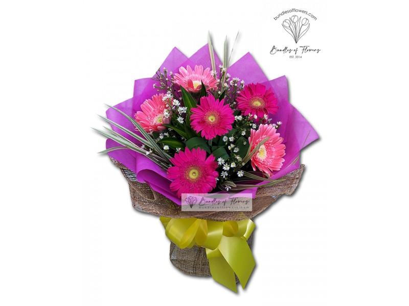 Gerberas Bouquet 01