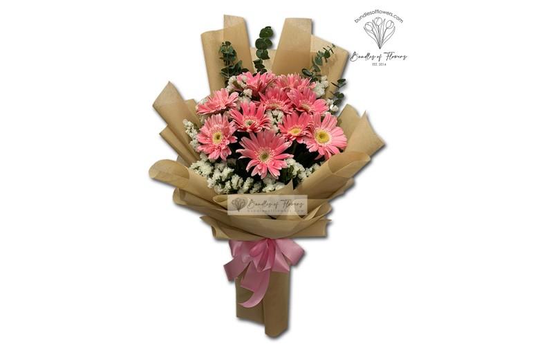 Pink Gerberas Bouquet