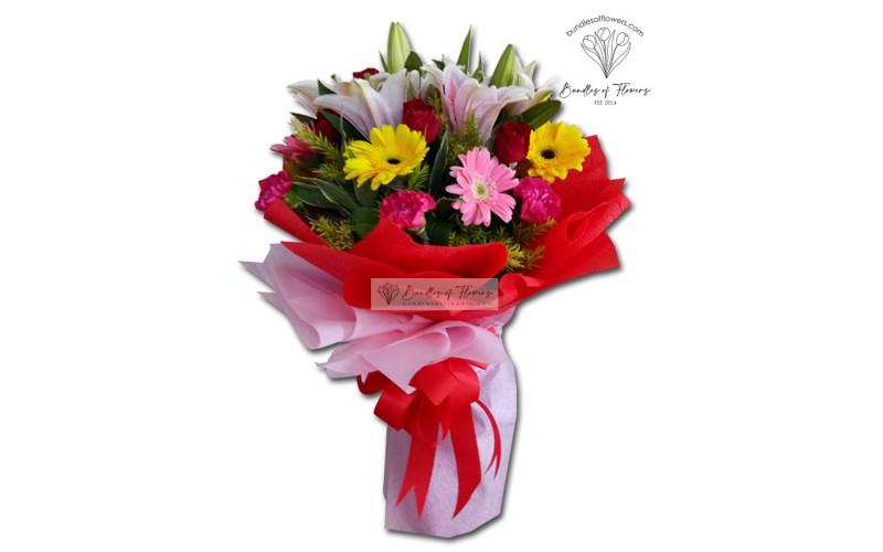 Flower Bouquet 01