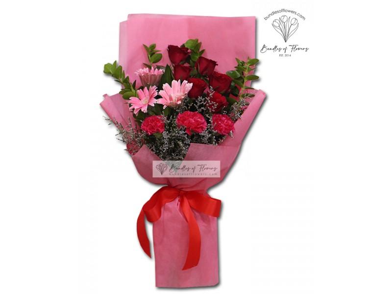 Mixed Flowers Bouquet 03