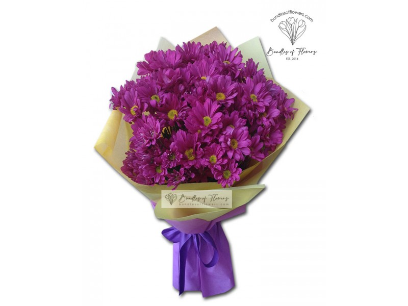 Mums Bouquet 02