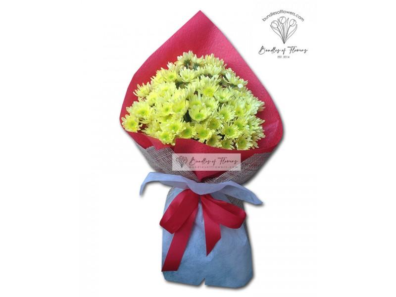 Mums Bouquet 03