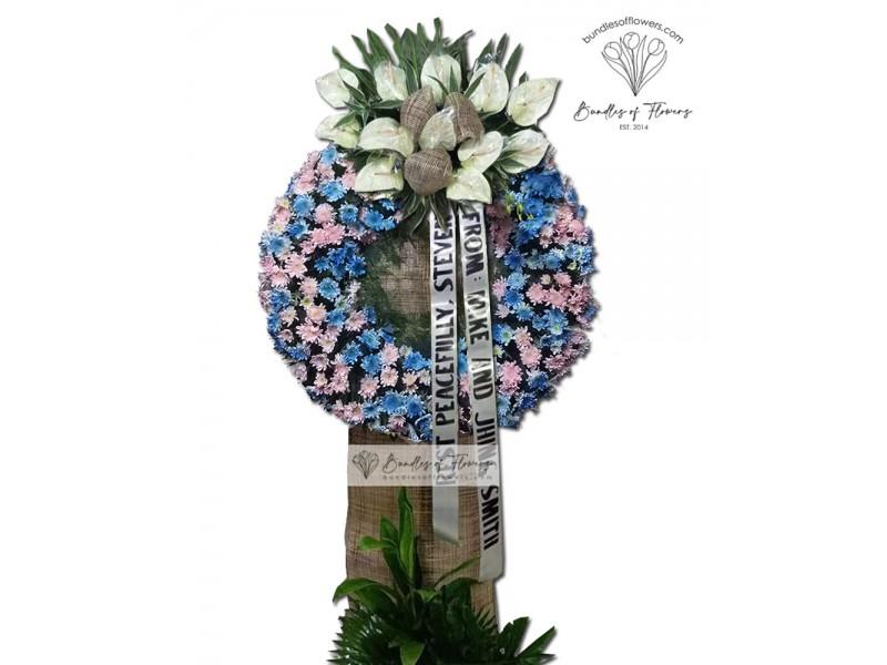 Funeral Wreath 16