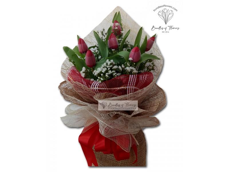Tulips Bouquet 03