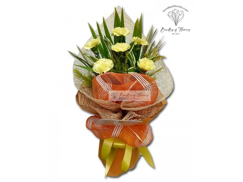 Carnations Bouquet 04