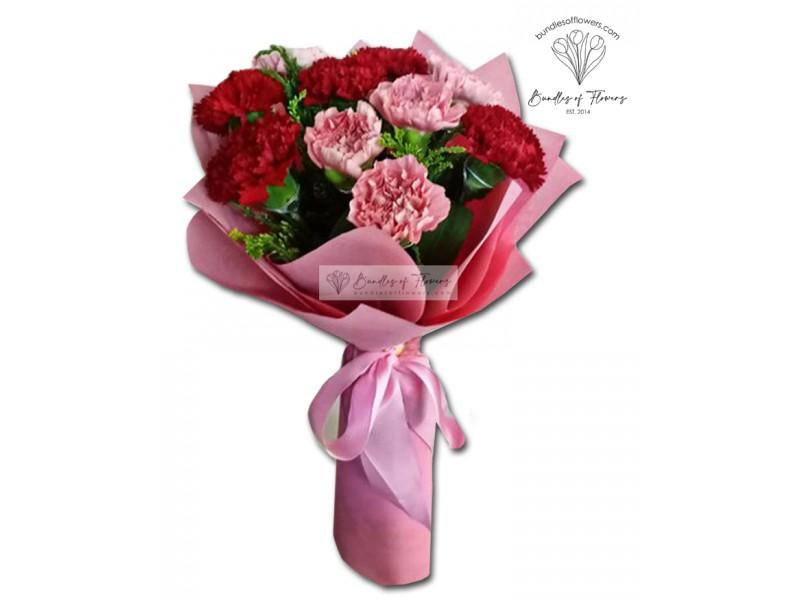 Carnations Bouquet 06