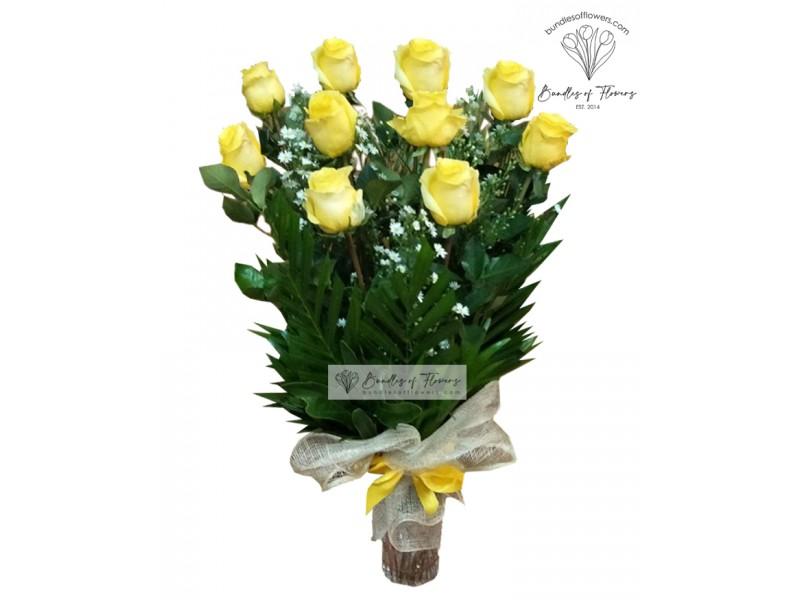 Ecuadorian Yellow in Vase
