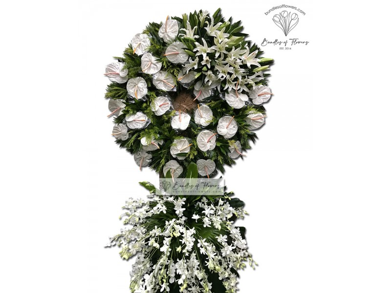 Funeral Wreath 12