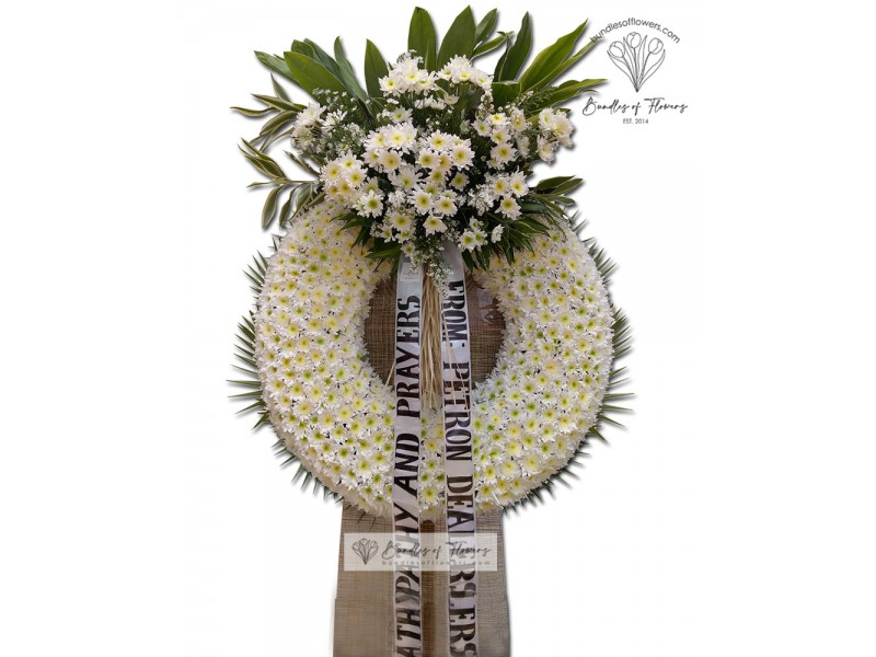 Funeral Wreath 17