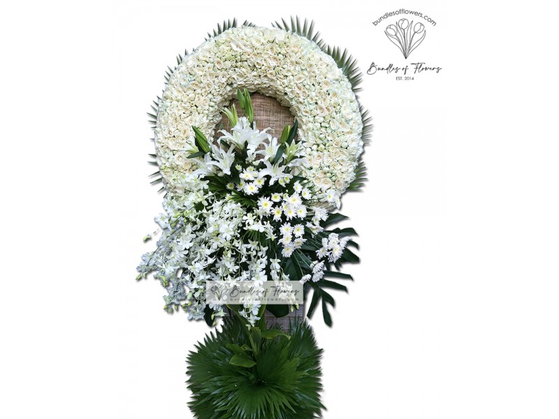 Funeral Wreath 18
