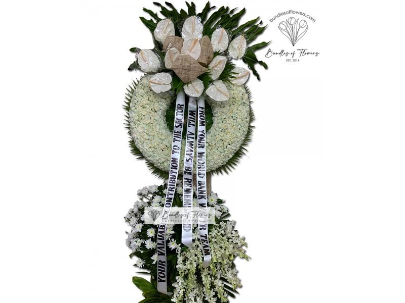 Funeral Wreath 21