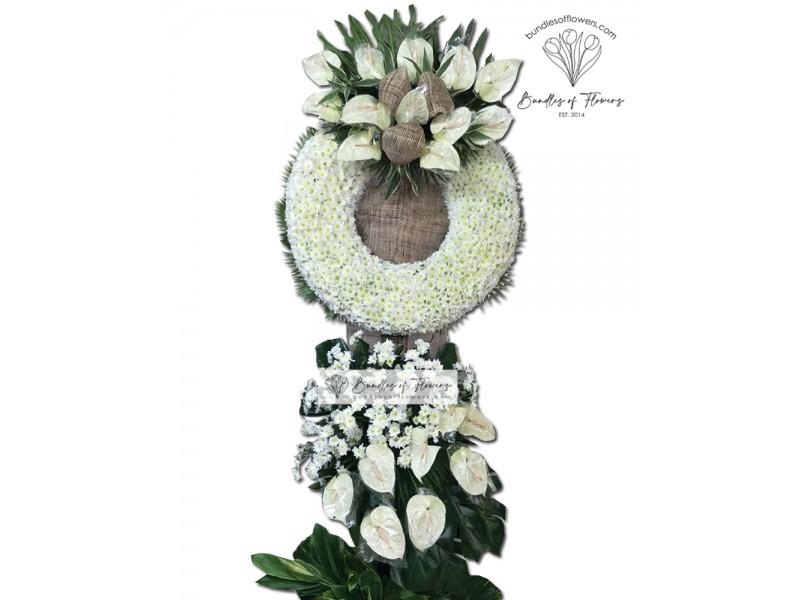 Funeral Wreath 22