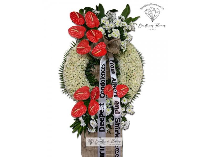 Funeral Wreath 23